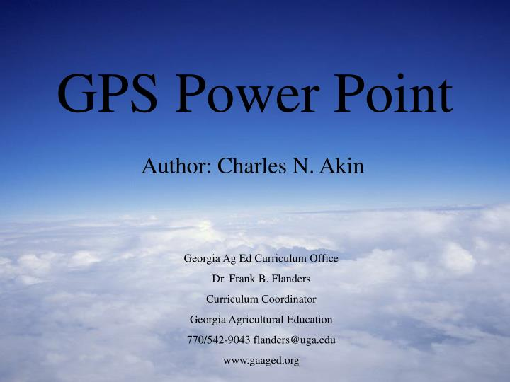 Gps power point