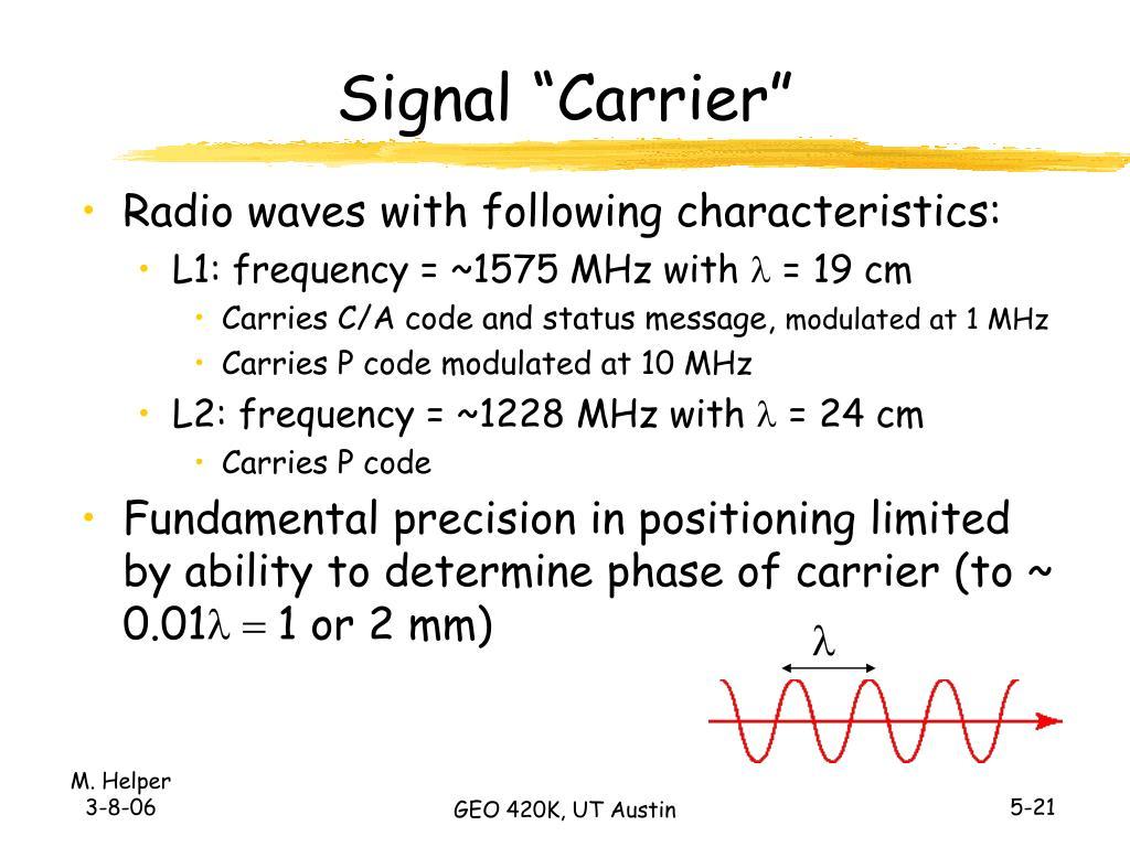 "Signal ""Carrier"""