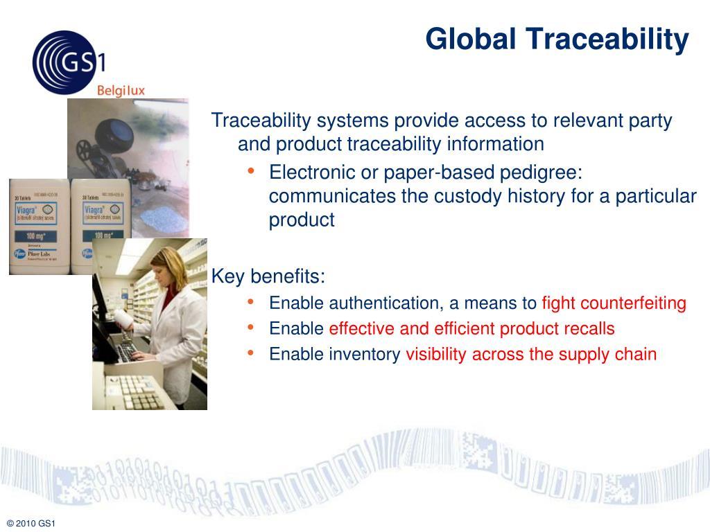 Global Traceability