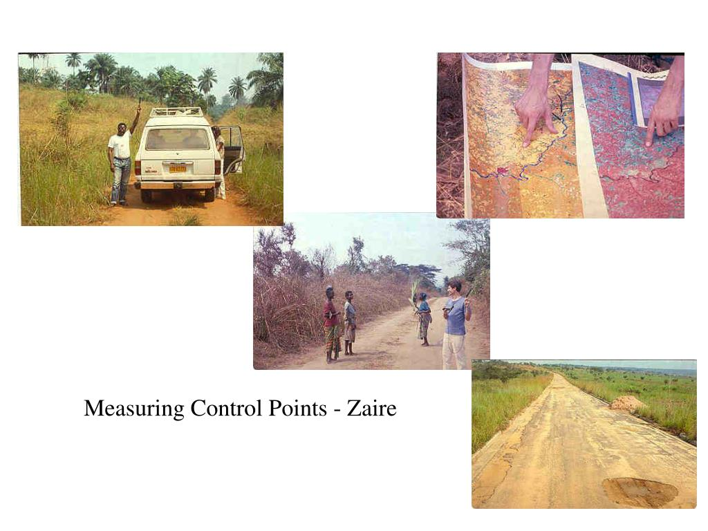 Measuring Control Points - Zaire