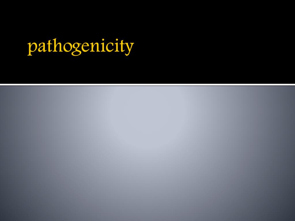pathogenicity