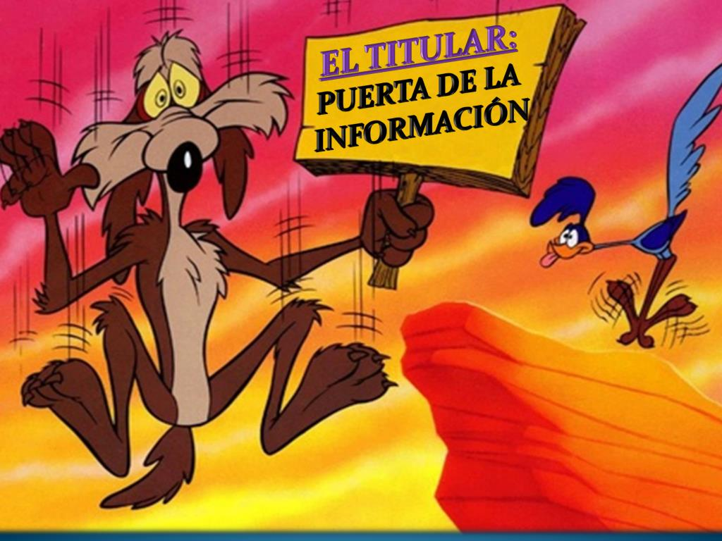 EL TITULAR: