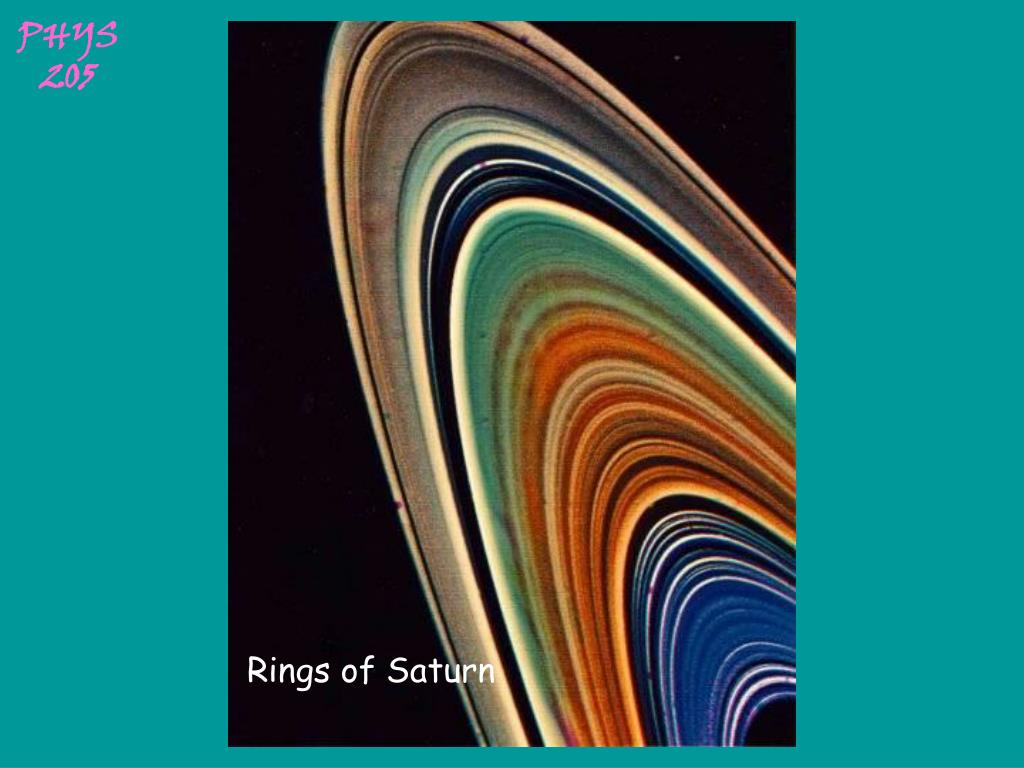 Rings of Saturn