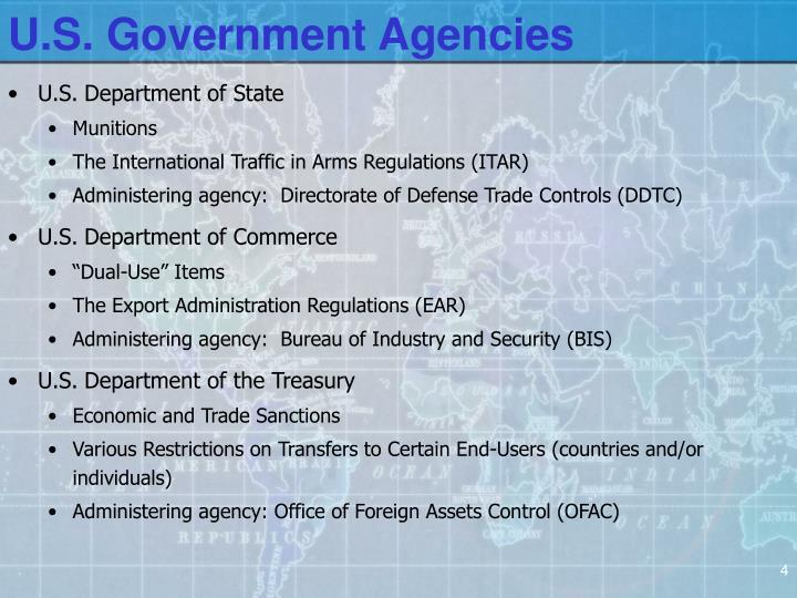 U.S. Government Agencies