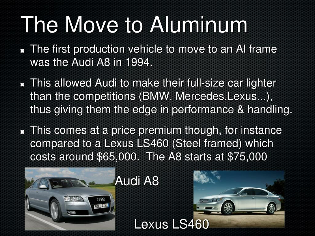 The Move to Aluminum