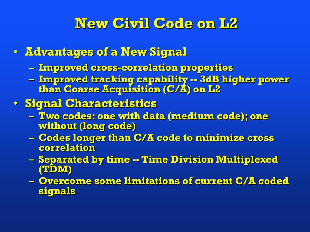 New Civil Code on L2