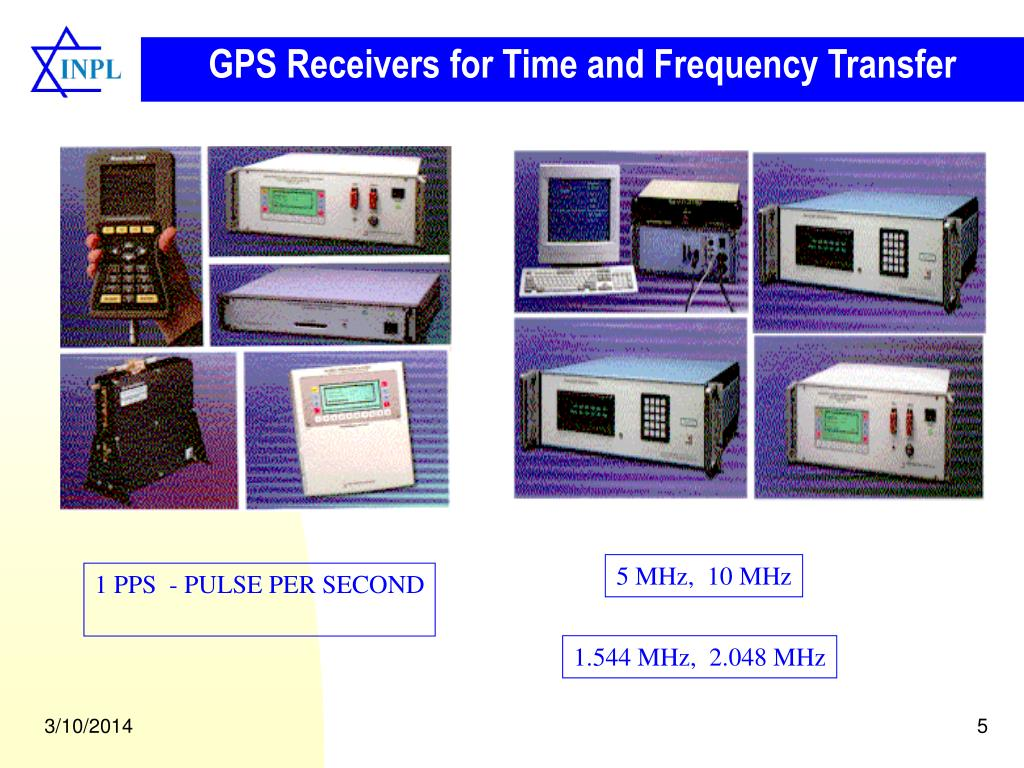 GPS Receivers for Time and Frequency Transfer