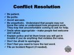 conflict resolution27