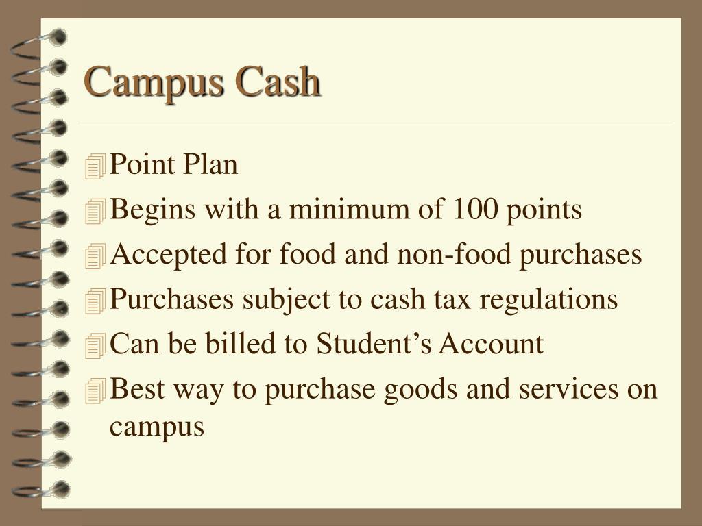 Campus Cash