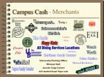 campus cash merchants
