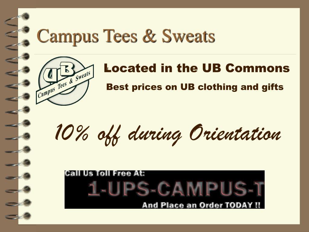 Campus Tees & Sweats