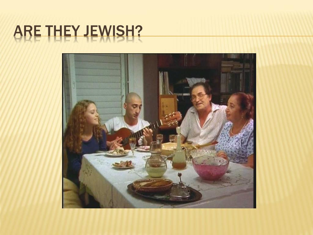 Are they Jewish?