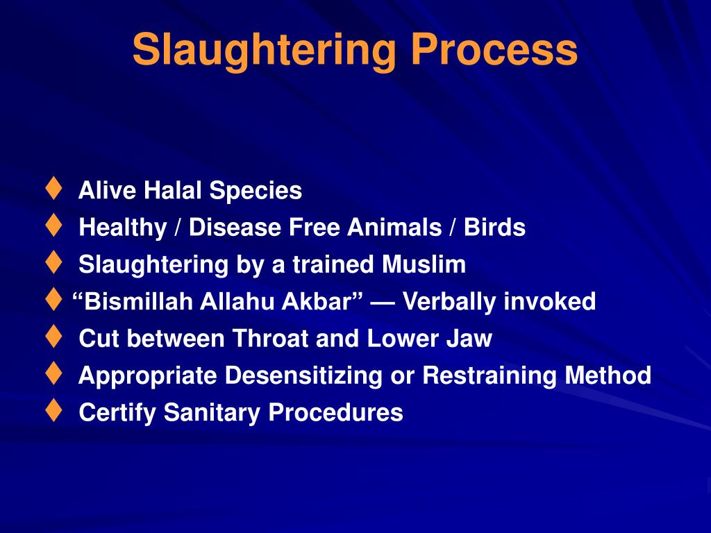 Slaughtering Process