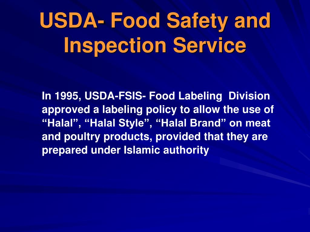 USDA- Food Safety and