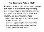 the command pattern gof