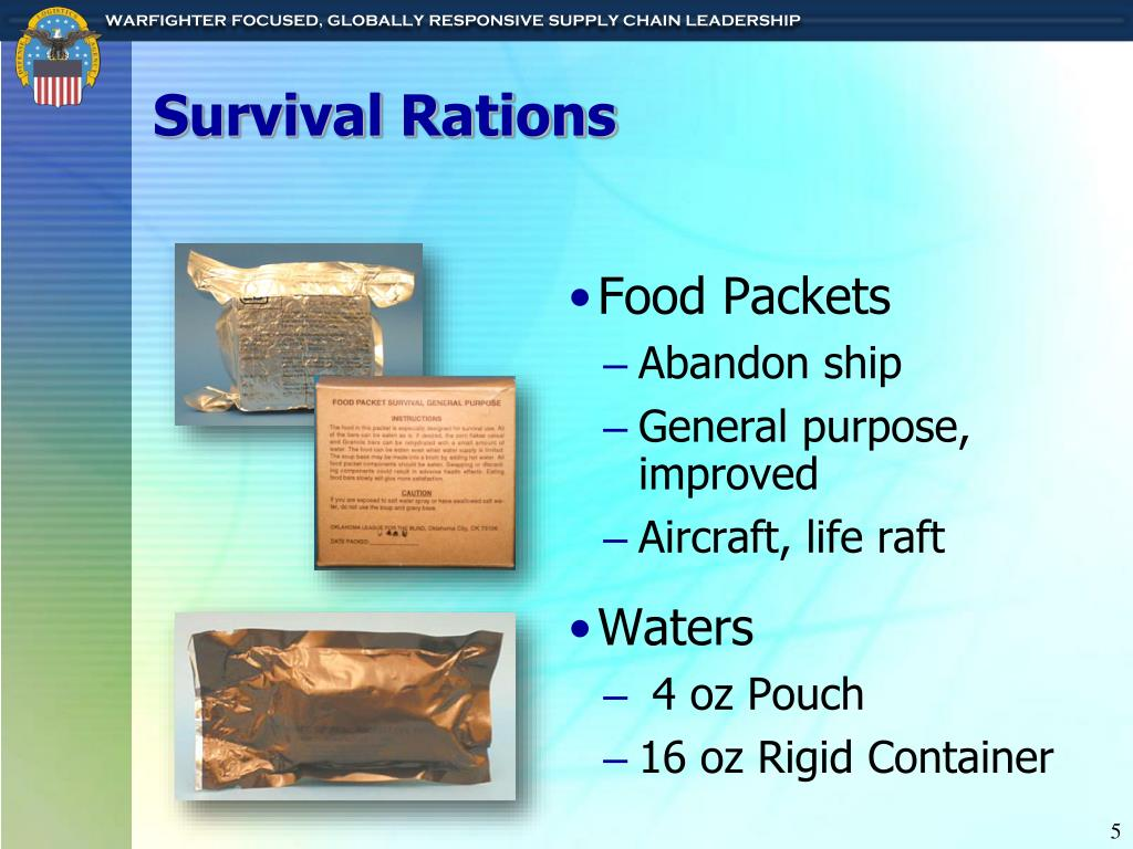 Survival Rations