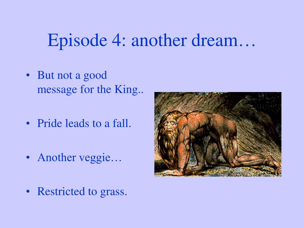 Episode 4: another dream…