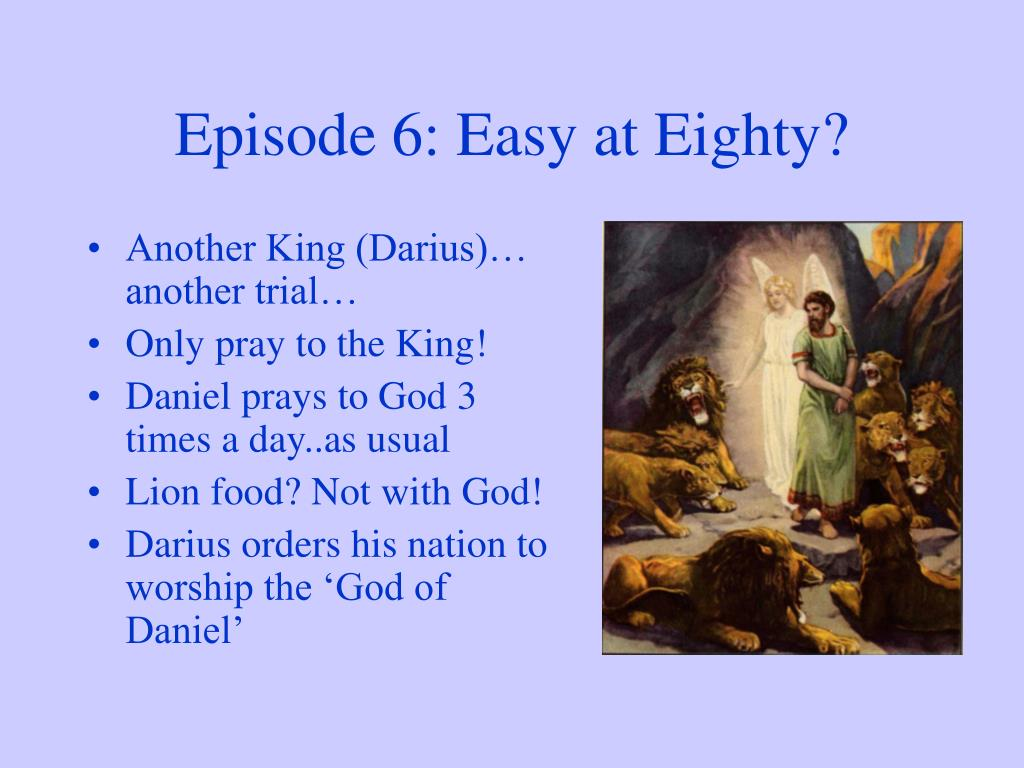 Episode 6: Easy at Eighty?