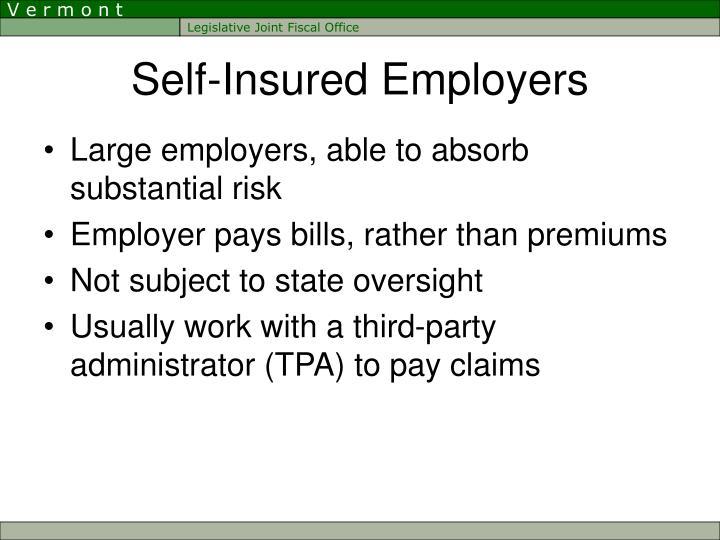 Self-Insured Employers