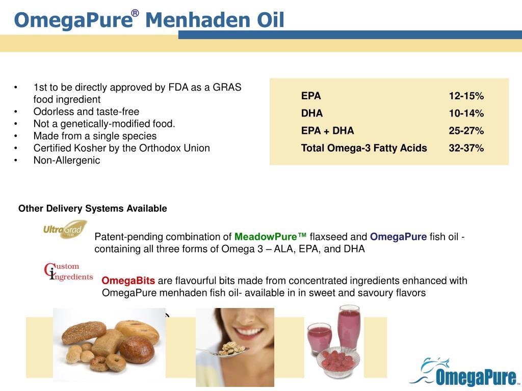 OmegaPure  Menhaden Oil