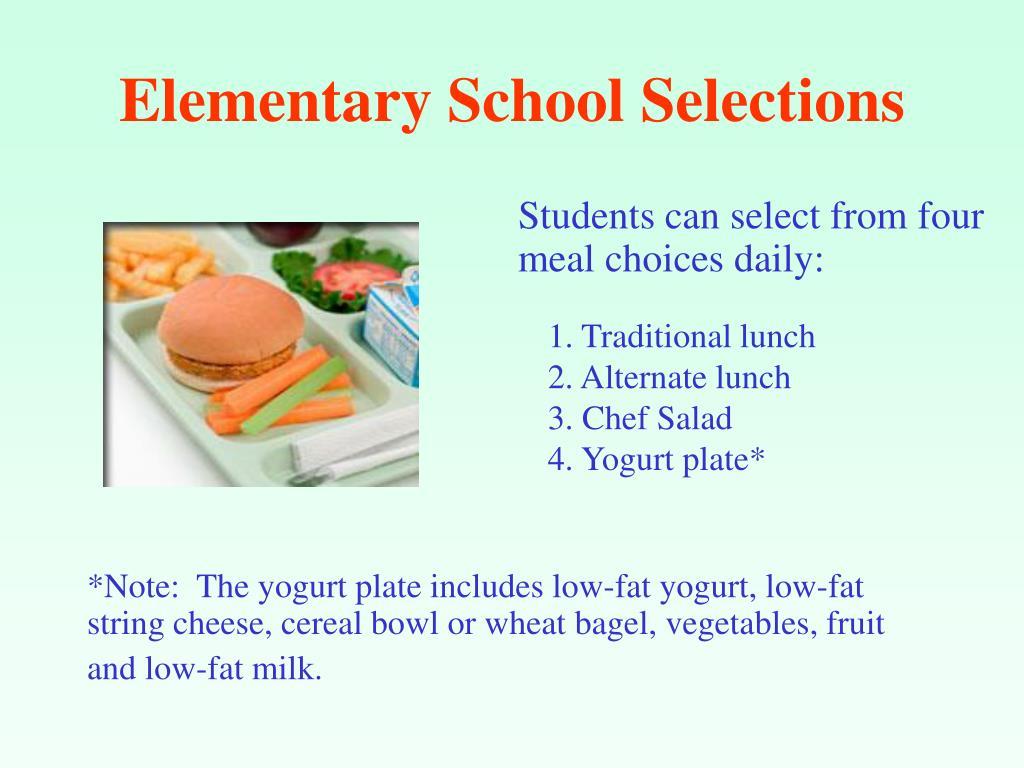 Elementary School Selections
