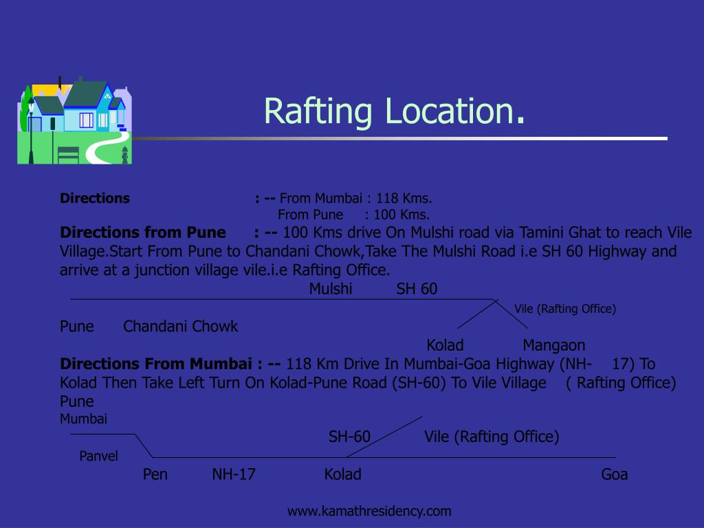 Rafting Location