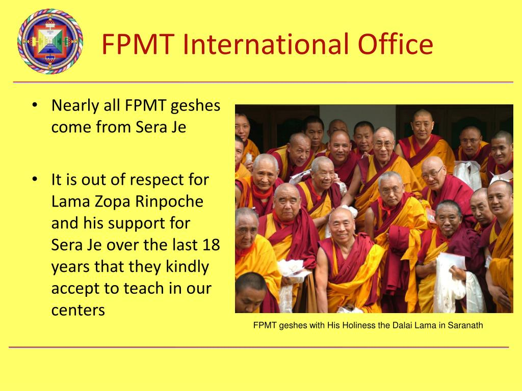 Nearly all FPMT