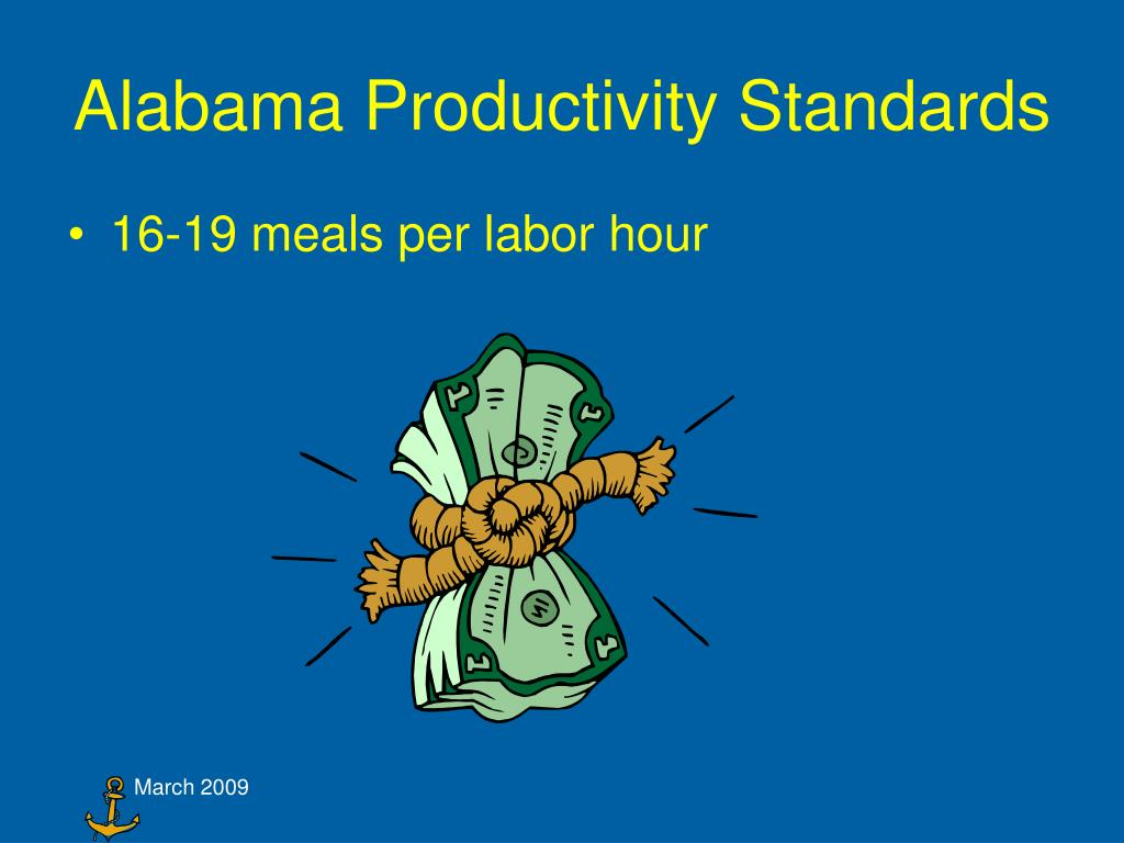 Alabama Productivity Standards
