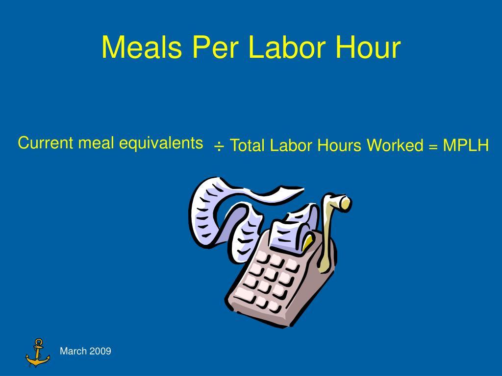Meals Per Labor Hour