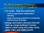 the book support challenge an example from lbd s apollo 13