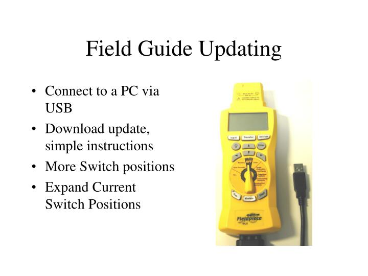 Field Guide Updating