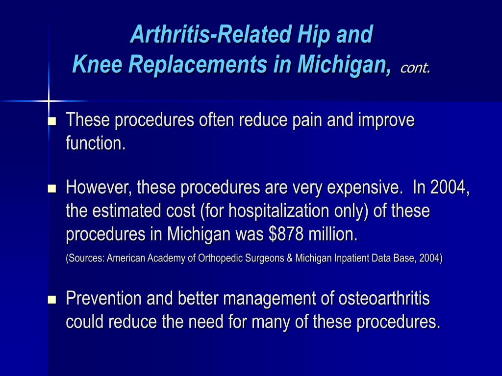 Arthritis-Related Hip and