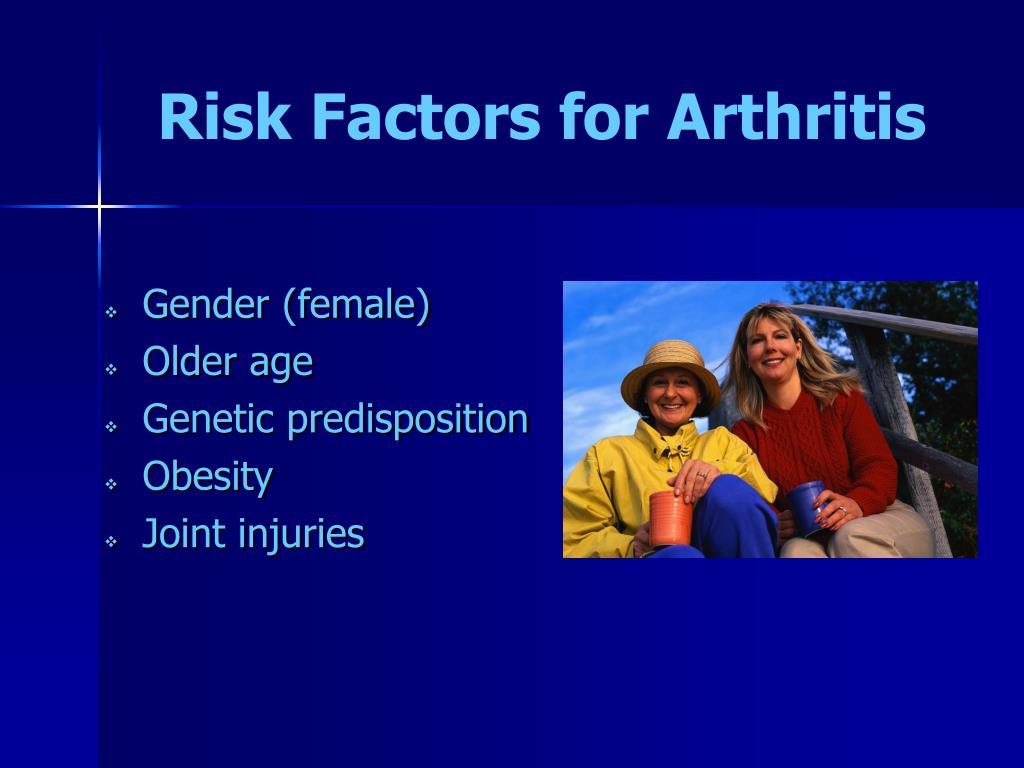 Risk Factors for Arthritis