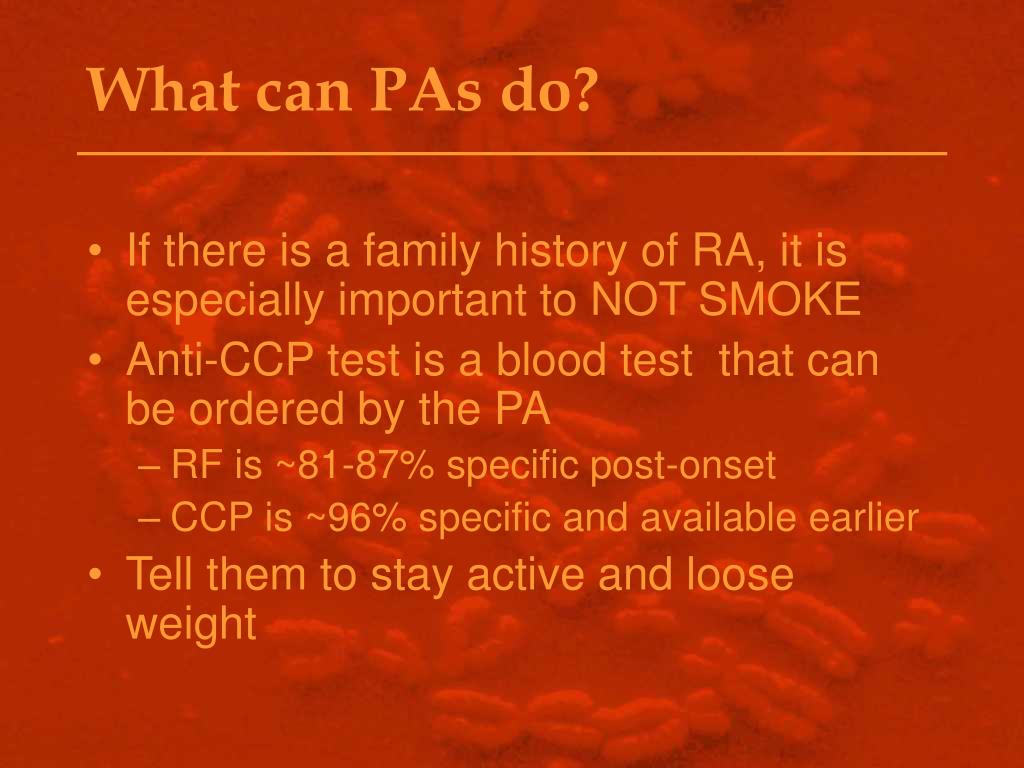 What can PAs do?