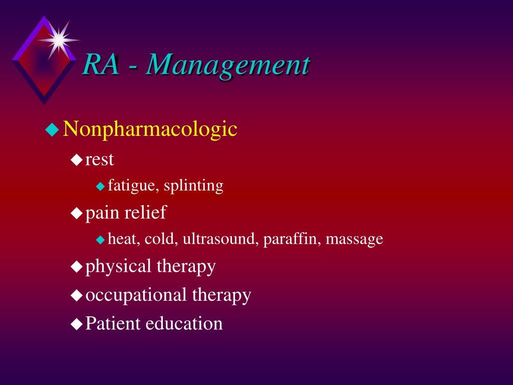 RA - Management
