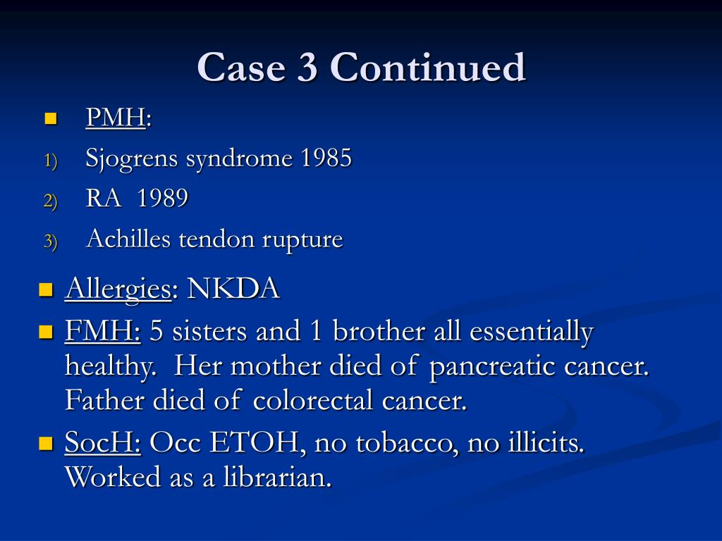 Case 3 Continued