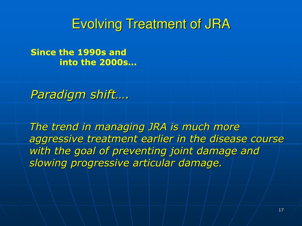 Evolving Treatment of JRA