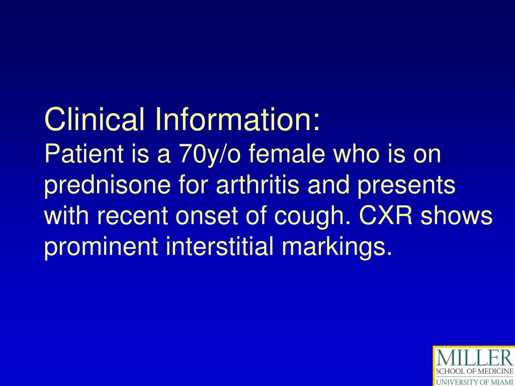 Clinical Information: