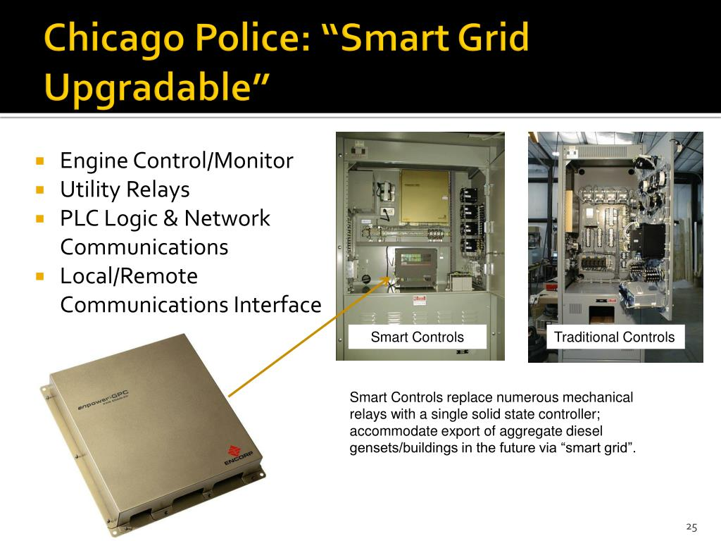 "Chicago Police: ""Smart Grid Upgradable"""