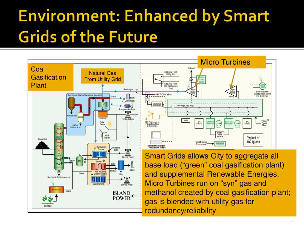 Environment: Enhanced by Smart Grids of the Future