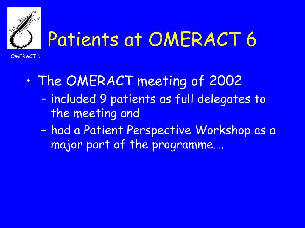 OMERACT 6