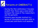 patients at omeract 624