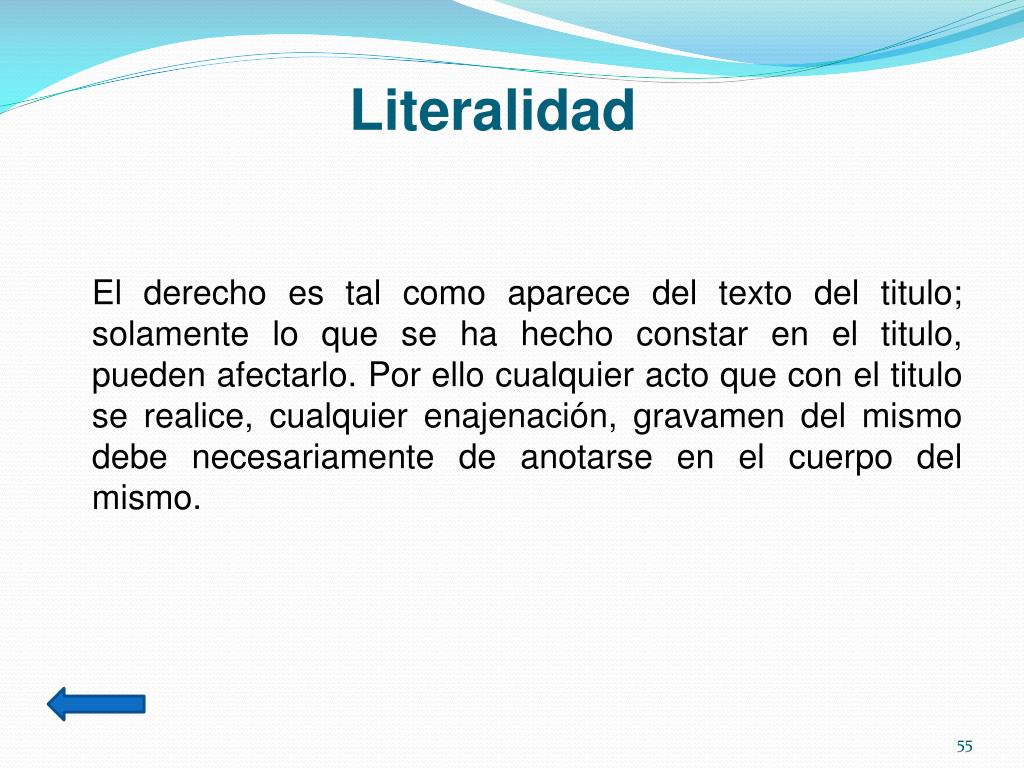 Literalidad