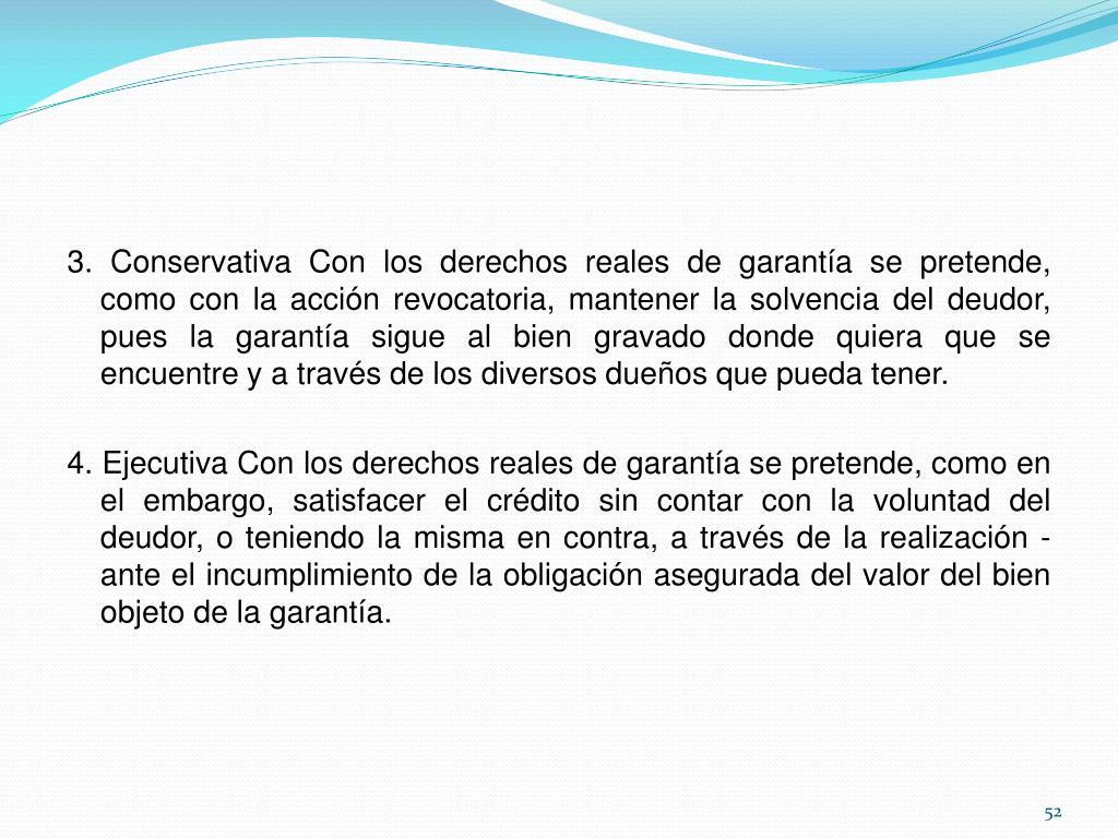 3. Conservativa