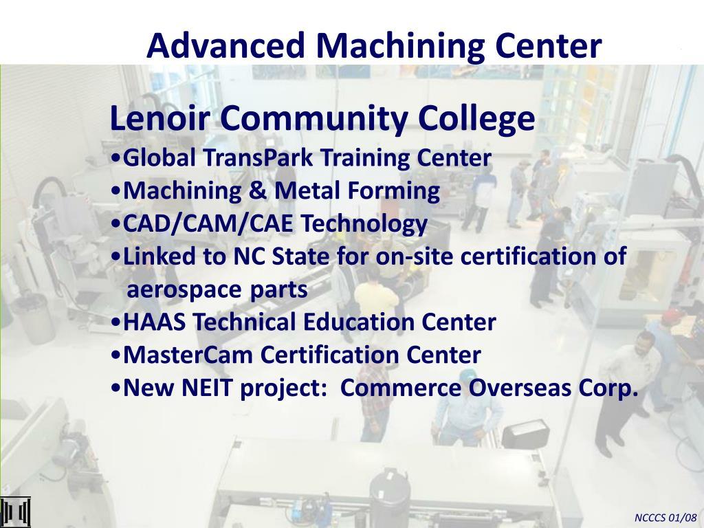 Advanced Machining Center