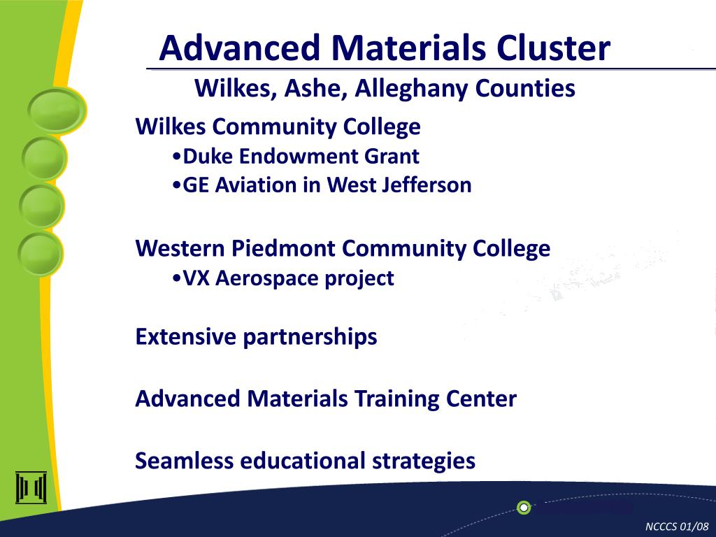 Advanced Materials Cluster