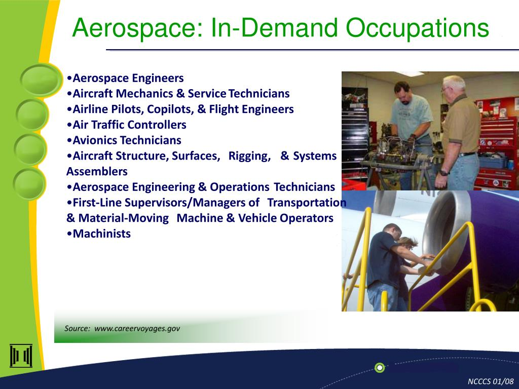 Aerospace: In-Demand Occupations