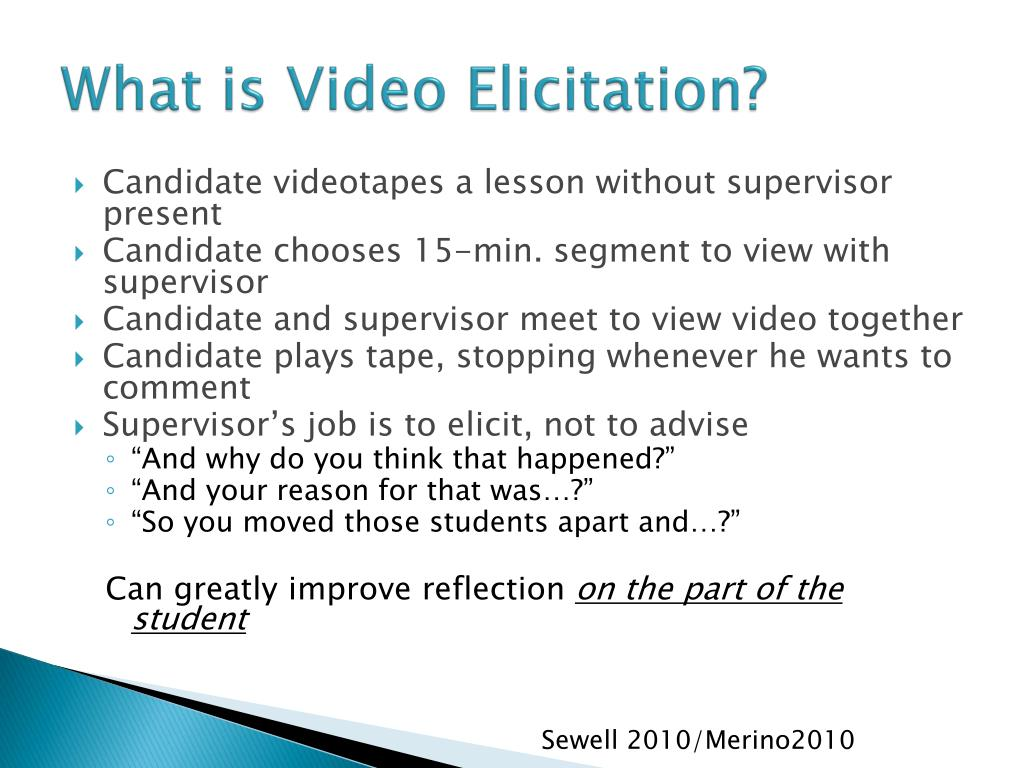 What is Video Elicitation?