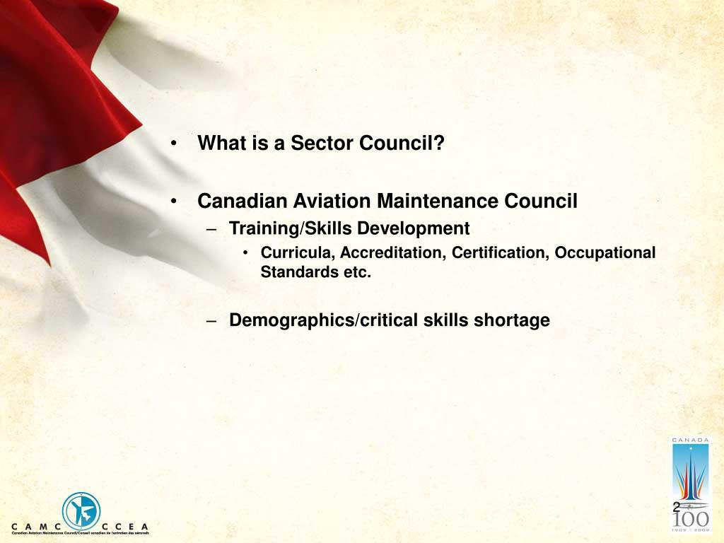 What is a Sector Council?