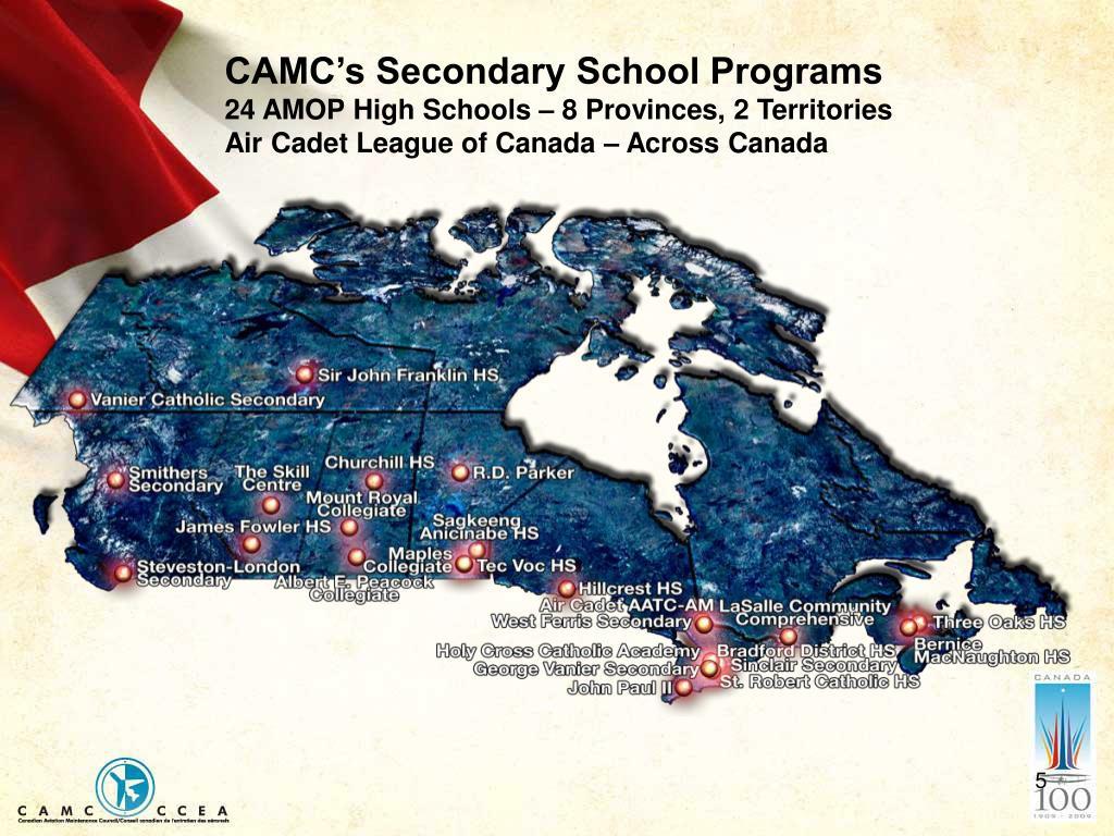 CAMC's Secondary School Programs